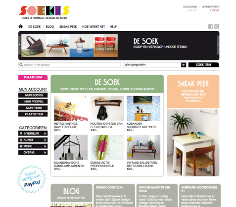 Home page Soekis