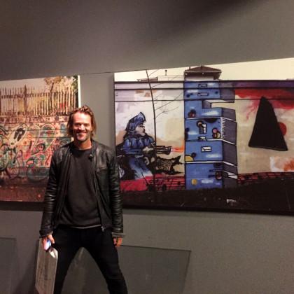 Jasper Krabbé Graffiti tentoonstelling