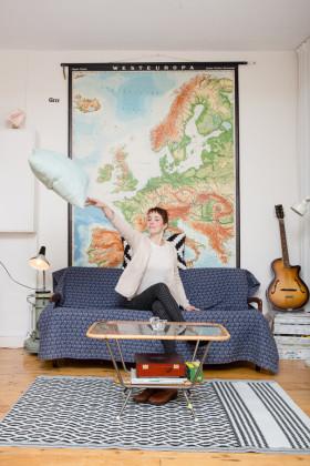Het huishoudboekje van Ilona Laurijsse. Foto: Peter de Krom