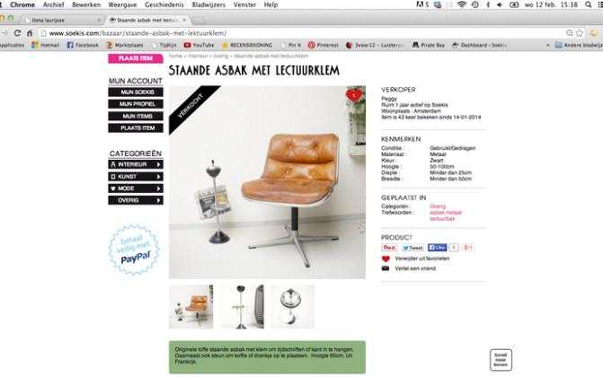 Product pagina Soekis