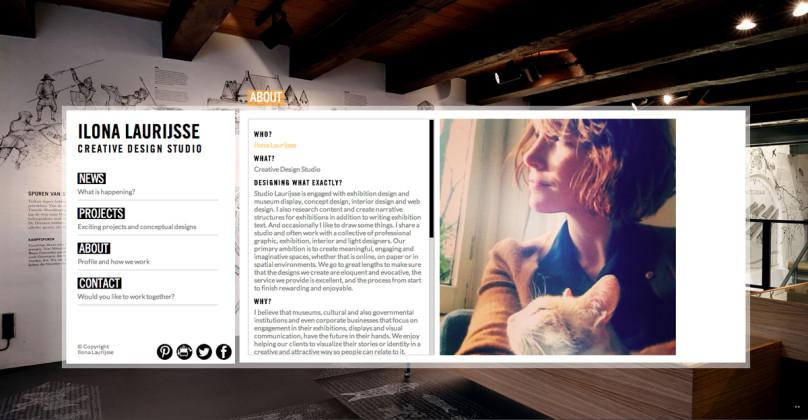 About Ilona Laurijsse Web Design
