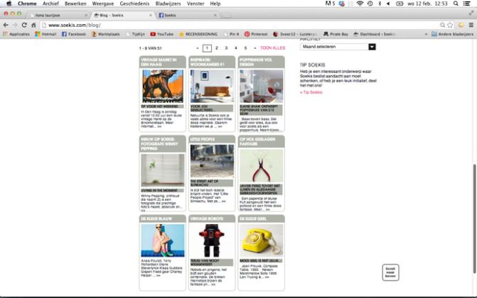 Blog items Soekis