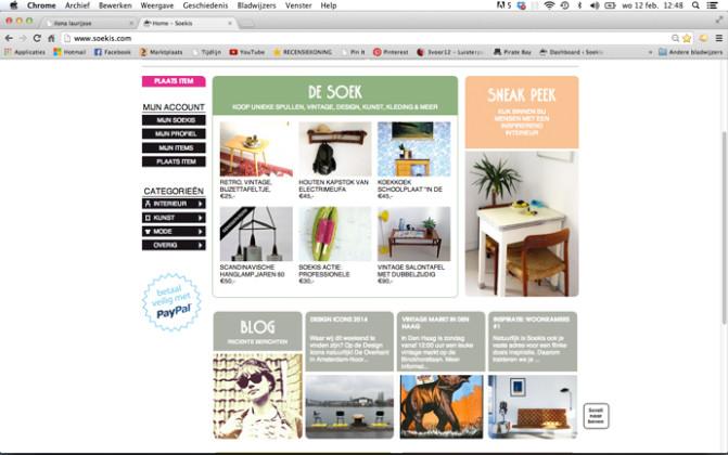 Homepage Soekis
