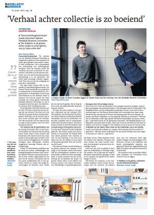 Stedelijk Museum Coevorden in Dagblad van het Noorden