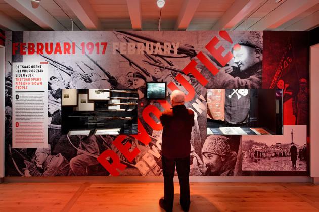 tentoonstellingsontwerp Romanovs Revolutie Hermitage _ 12